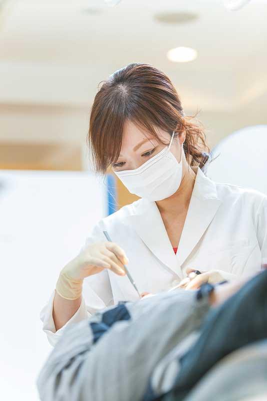 患者1人ひとりに対し、充分にヒアリングした後、治療計画を立てることを目標としている